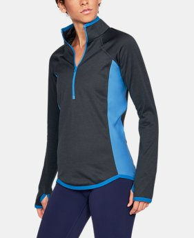 New Arrival  Women's UA ColdGear® Reactor Fleece ½ Zip  1 Color $99.99