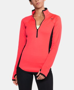 Women's UA ColdGear® Reactor Fleece ½ Zip  1 Color $99.99