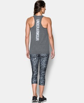 Women's UA Threadborne™ Twist Graphic Tank  1 Color $39.99