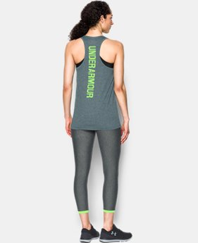 Women's UA Threadborne™ Twist Graphic Tank  1 Color $32.99