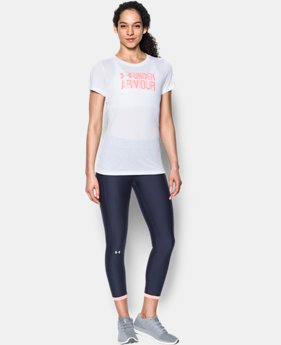 Women's UA Threadborne™ Graphic Short Sleeve  1 Color $32.99