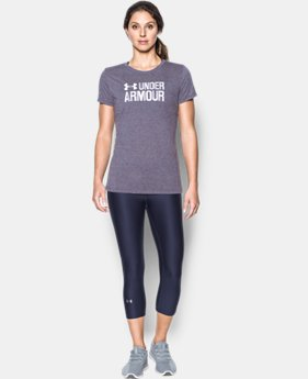Women's UA Threadborne™ Twist Graphic Short Sleeve  1 Color $32.99