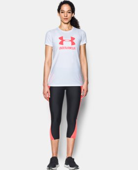 New to Outlet Women's UA Sportstyle Crew  8 Colors $14.99 to $18.99
