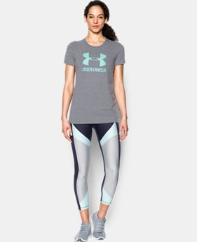New to Outlet Women's UA Sportstyle Crew  3 Colors $14.99 to $18.99