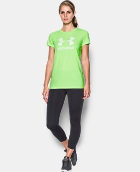 New to Outlet Women's UA Sportstyle Crew  1 Color $14.99 to $18.99