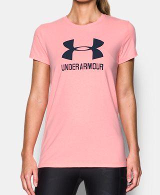 女子UA Sportstyle Crew襪