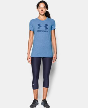 New to Outlet Women's UA Sportstyle Crew  2 Colors $14.99 to $18.99