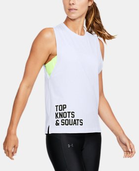 New Arrival Women's UA Top Knots & Squats Muscle Tank  1 Color $29.99