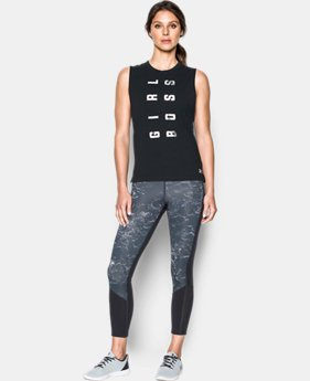 Women's UA Girl Boss Muscle Tank  2 Colors $29.99