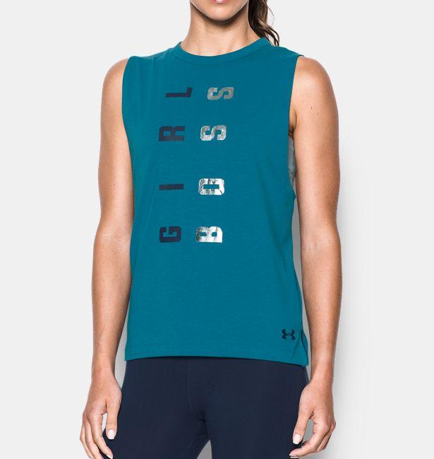 1bc12a20 Women's UA Girl Boss Muscle Tank|Under Armour HK