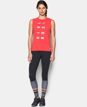 Women's UA Girl Boss Muscle Tank  1 Color $18.99 to $19.99
