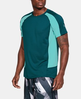 Men's UA HexDelta Short Sleeve  1  Color Available $54.99