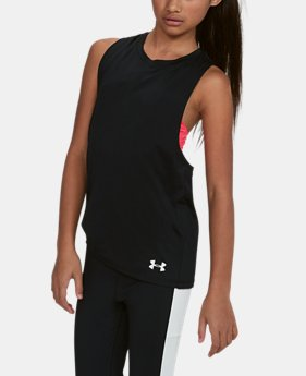 Girls' UA 2-in-1 Tank  1 Color $26.24