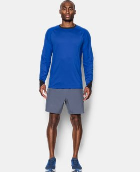 Men's UA HexDelta Long Sleeve  1  Color Available $44.99 to $56.24