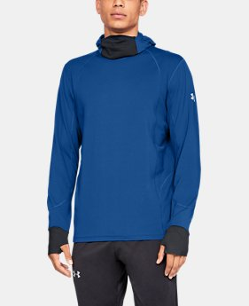 Men's ColdGear® Reactor Run Balaclava Hoodie  1  Color Available $114.99