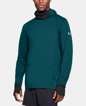 Men's ColdGear® Reactor Run Balaclava Hoodie  3  Colors Available $99.99
