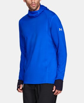 New Arrival Men's ColdGear® Reactor Run Balaclava Hoodie  1 Color $99.99