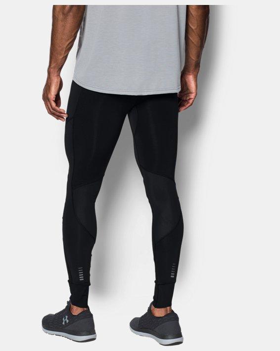 Men's ColdGear® Reactor Run Leggings, Black, pdpMainDesktop image number 1
