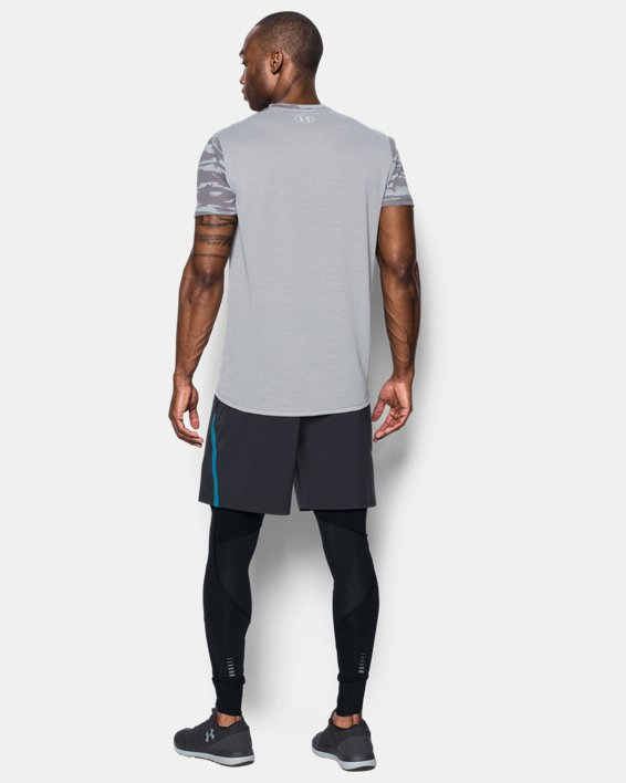 Men's ColdGear® Reactor Run Leggings, Black, pdpMainDesktop image number 3
