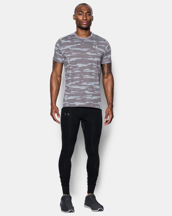 Men's ColdGear® Reactor Run Leggings, Black, pdpMainDesktop image number 2