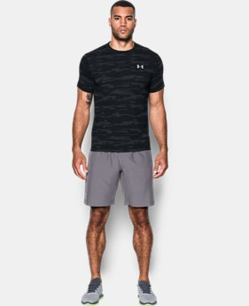 PRO PICK Men's UA Threadborne™ Run Mesh Short Sleeve  1 Color $39.99