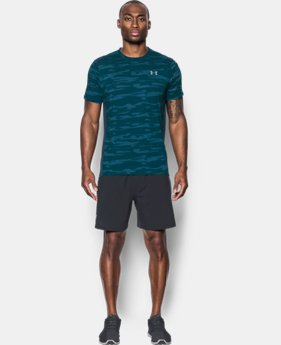 PRO PICK Men's UA Threadborne™ Run Mesh Short Sleeve  1 Color $27.99
