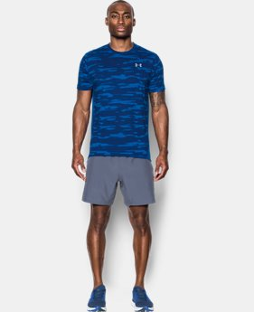 PRO PICK Men's UA Threadborne™ Run Mesh Short Sleeve  3 Colors $39.99
