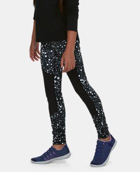 Girls' ColdGear® Printed Leggings  1  Color Available $37.49