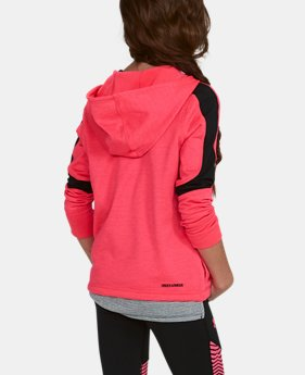 Girls' ColdGear® Reactor Fleece ½ Zip Hoodie  3 Colors $48.74