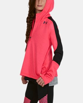 Girls' ColdGear® Reactor Fleece ½ Zip Hoodie  3  Colors Available $38.99