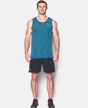 New to Outlet Men's UA Threadborne Seamless Tank  1 Color $24.99