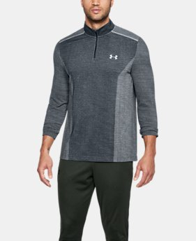 Men's UA Threadborne™ Seamless ¼ Zip  5 Colors $59.99