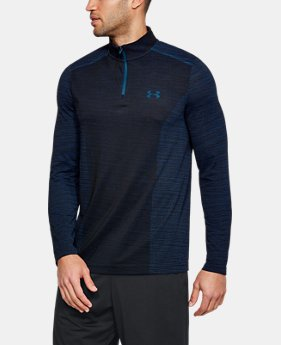 Men's UA Threadborne™ Seamless ¼ Zip  8  Colors Available $59.99