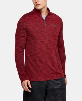 Men's UA Threadborne™ Seamless ¼ Zip  1  Color Available $69.99