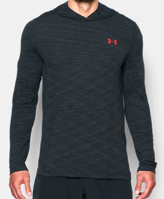 Men's UA Threadborne Fleece ½ Zip Hoodie
