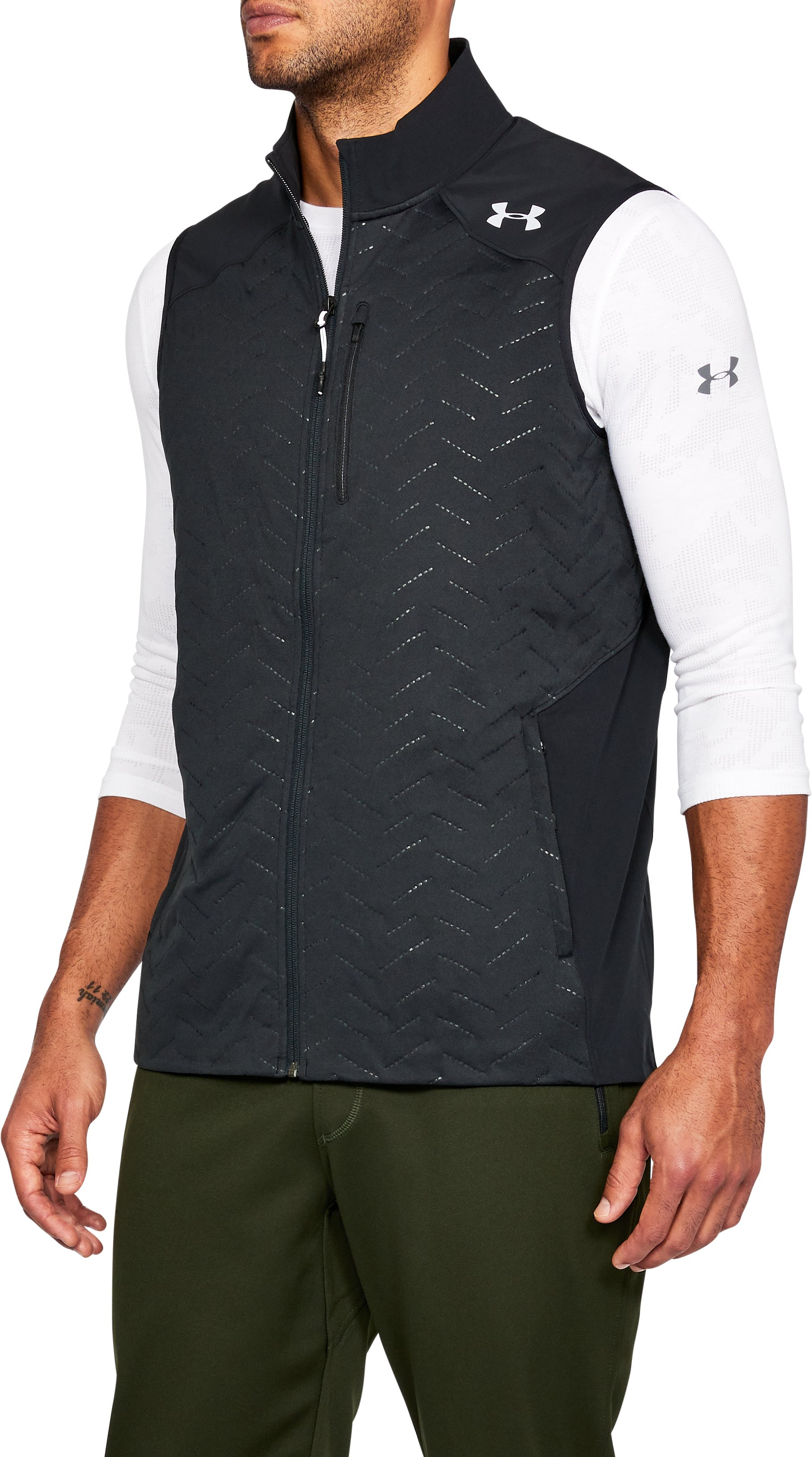Men's UA ColdGear® Reactor Vest, Black