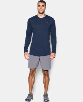 Men's UA Raid Longline Long Sleeve T-Shirt  1 Color $24.99