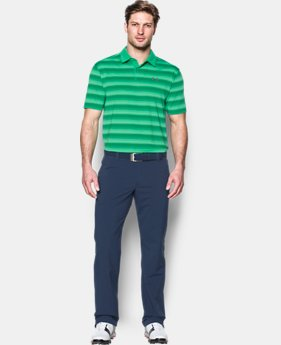Men's UA CoolSwitch Bermuda Stripe Polo  1 Color $74.99