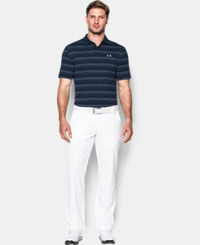 Men's UA CoolSwitch Bermuda Stripe Polo  2 Colors $74.99
