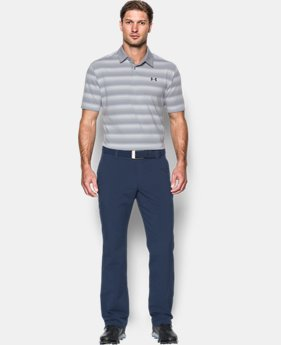 Men's UA CoolSwitch Bermuda Stripe Polo  1 Color $84.99