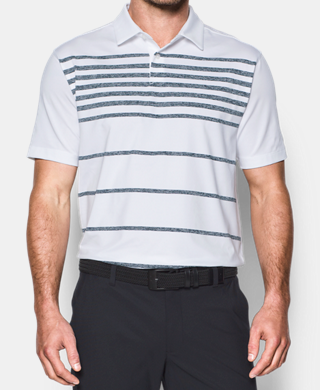 Men's UA CoolSwitch Brassie Stripe Polo
