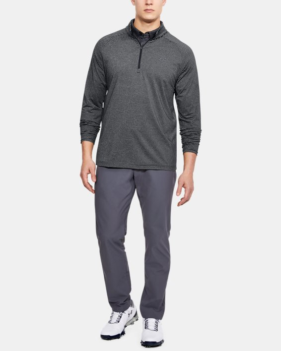Men's UA Playoff ¼ Zip, Black, pdpMainDesktop image number 1
