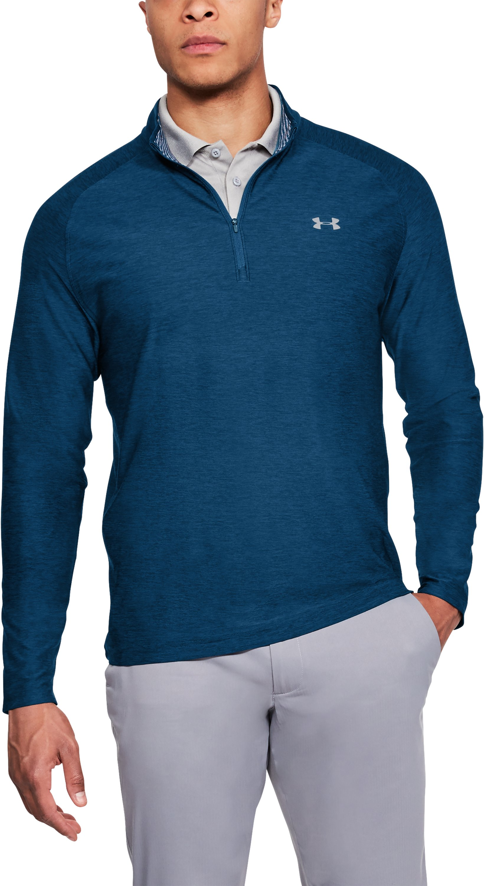 Men's UA Playoff ¼ Zip, Academy