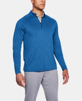 Best Seller Men's UA Playoff ¼ Zip  2  Colors Available $69.99