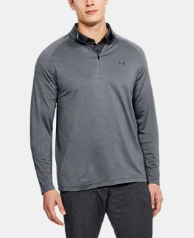 Men's UA Playoff ¼ Zip  6  Colors Available $41.99 to $52.49