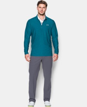 New to Outlet Men's UA Playoff ¼ Zip  2 Colors $44.99 to $52.49