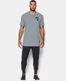 Men's UA x ALI Rumble In The Jungle T-Shirt  1 Color $23.99