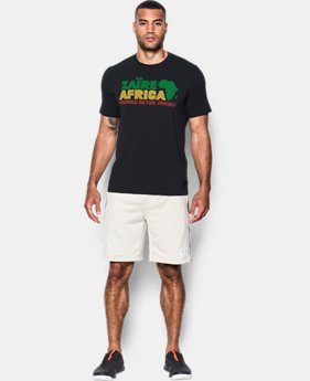 New Arrival  Men's UA x ALI Rumble Zaire 74 T-Shirt  1 Color $39.99