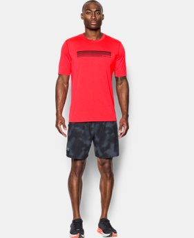 Men's UA Run Graphic Short Sleeve T-Shirt FREE U.S. SHIPPING  $34.99