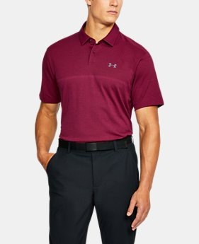 Men's UA Threadborne™ Tour Jacquard Polo  3 Colors $84.99
